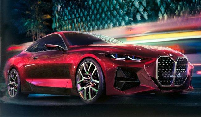 BMW在今年法蘭克福車展中所展示的Concept 4概念車。 摘自BMW