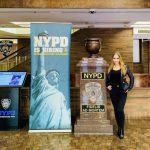 德國成人片女星參觀紐約市警總局 拒絕透露何人邀請