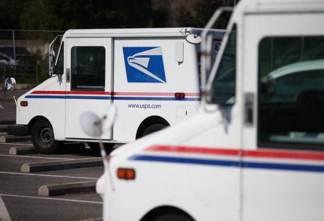 加州州政府、紐約市政府22日狀告美國郵政縱容走私香煙流入美國市場。(來源: Justin Sullivan / Getty Images)