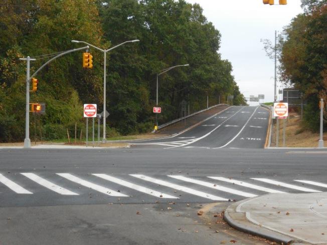 清景快速路二號出口拓寬項目竣工。(州交通廳提供)
