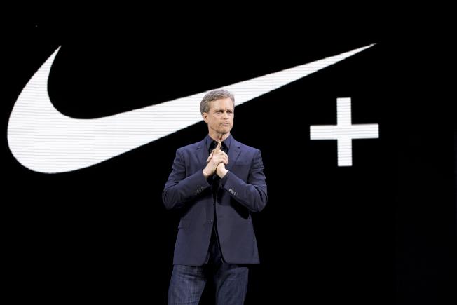 Nike現任執行長帕克。  美聯社