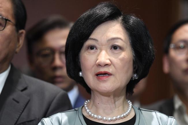 葉劉淑儀認為台灣的要求只是想讓港府尷尬。(中通社資料照片)