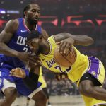 NBA/無視詹皇!雷納德聯手板凳暴徒 快艇首戰擊退湖人