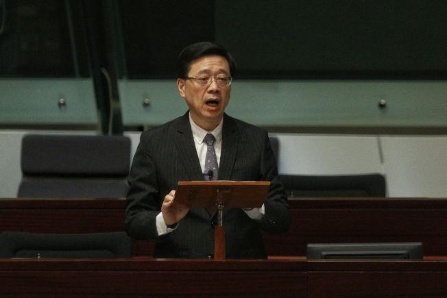 香港保安局局長李家超23日宣布,正式撤回「逃犯條例」修訂。(取材自香港01)