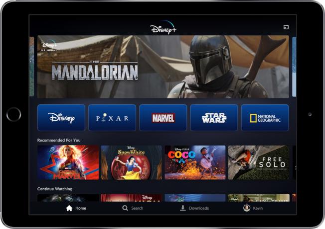 Verizon與迪士尼強強聯手,該電信巨擘將贈送用戶為期一年的免費影音串流服務Disney+。美聯社