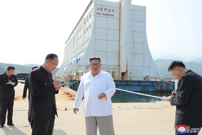 金正恩要拆金刚山的南韩设施峨山投入巨资欲哭无泪