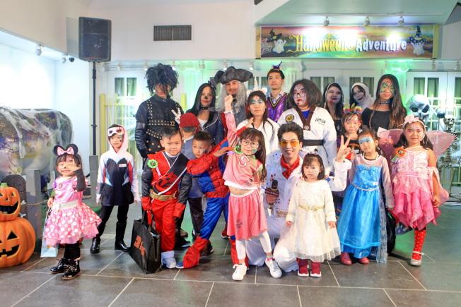 法拉盛「萬聖狂歡節」歡迎社區家庭共襄盛舉。(主辦方提供)