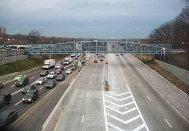 紐約州交通廳斥資7億元投資皇后區秋園立體交叉道項目,旨在提供交通安全性、減少擁堵。(州交通廳提供)