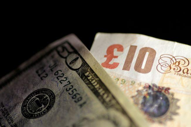 英鎊兌美元跌0.5%至1.2851附近。路透