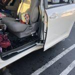 大白天被尾隨 華女車輛被砸 剛買3000元電子產品全被偷