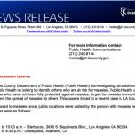 麻疹病患曾去迪士尼 衛生局示警
