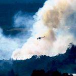火場濃煙蔽日 灣區空汙嚴重