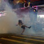 香港示威不止 今晚多起意外衝突