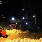 貴陽一在建停車場垮塌 8死2人受傷