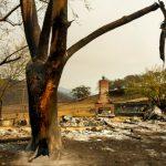 金凱德大火 焚地7萬5千畝毀屋123棟