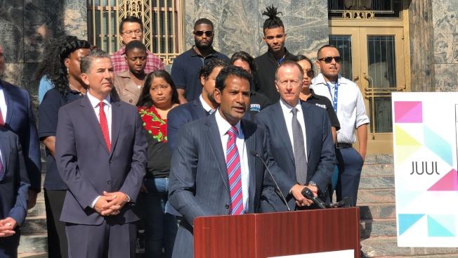 洛杉磯聯合校區的委託律師事務所Panish Shea&Boyle LLP的律師Rahul Ravipudi。(記者王若然/攝影)