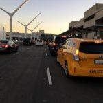 LAX禁出租車進航廈 開始實施