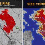 北灣大火焚燒面積達5個曼哈頓