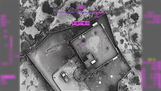 攻擊展開前,巴格達迪的住處已被嚴密監視。(歐新社)