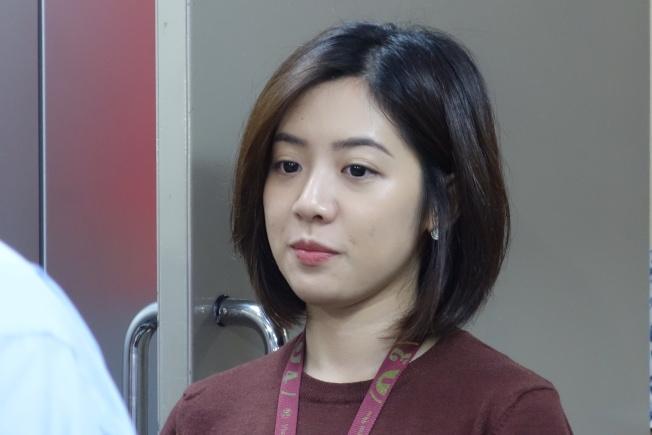 「學姐」黃瀞瑩擁有高人氣,是柯文哲手下愛將。(本報資料照片)