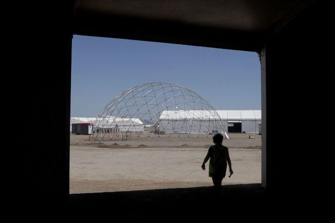 智利放棄主辦聯合國氣候變遷大會,圖為聖地牙哥預定舉行峰會的場地。 (美聯社)