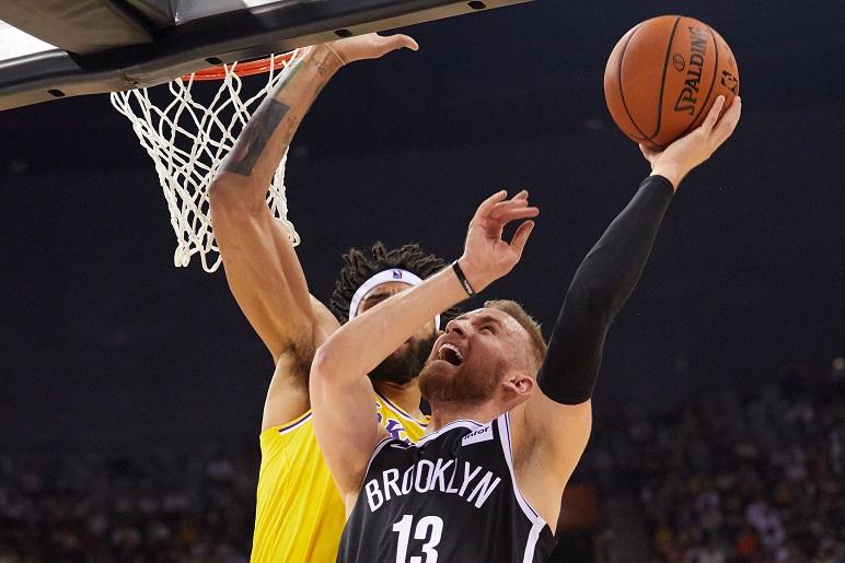 NBA中國賽第二戰平安落幕,籃網隊二連勝。(Getty Images)