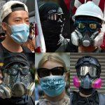 〈圖輯〉禁止蒙面法正式生效 香港抗爭全面升級
