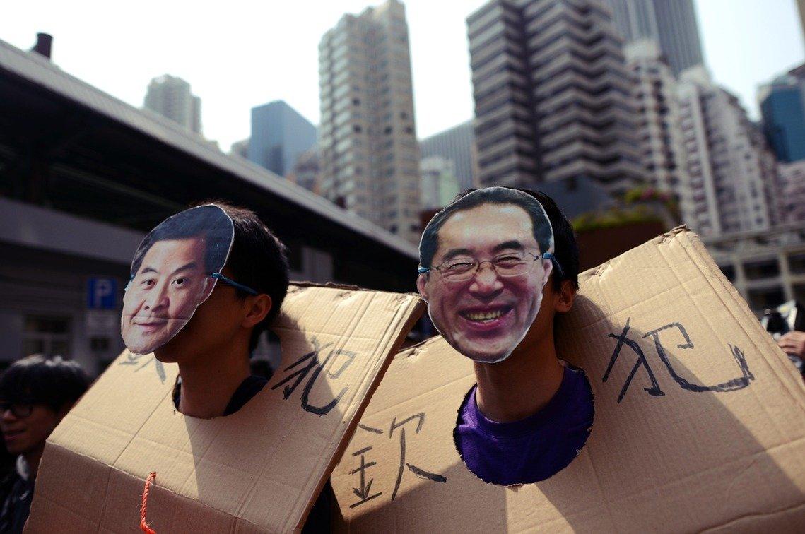 陳德霖是1993年香港金管局成立時的奠基人物之一,也曾擔任過香港行政長官辦公室主任,就資歷而言算是頗受矚目。 圖/美聯社