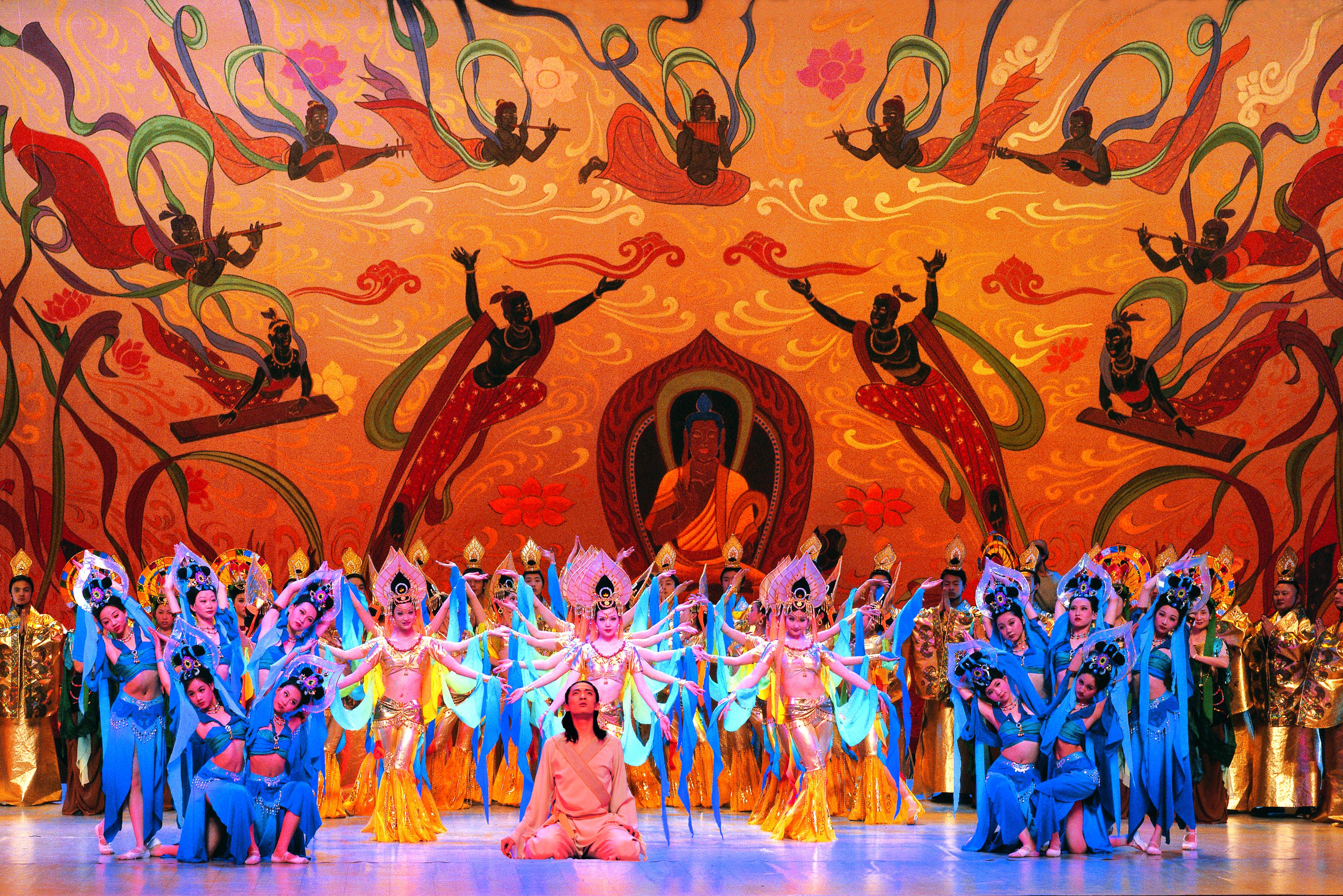 <大夢敦煌>是一部富有傳奇色彩的四幕舞劇,明年1月在紐約林肯中心登場。蘭州歌舞劇院/提供