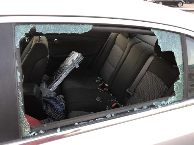 最近砸碎車窗偷竊事件大增,民眾要小心。(檔案照片)