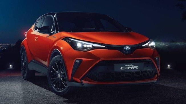 小改款歐規Toyota C-HR亮相。(Toyota)