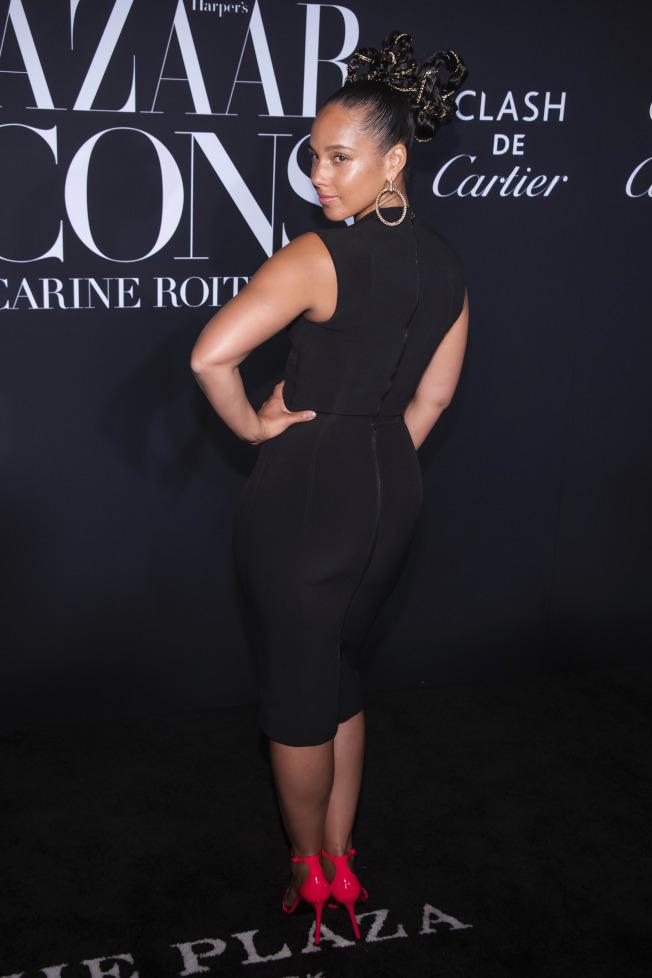 歌手艾莉西亞凱斯(Alicia Keys)。(美聯社)