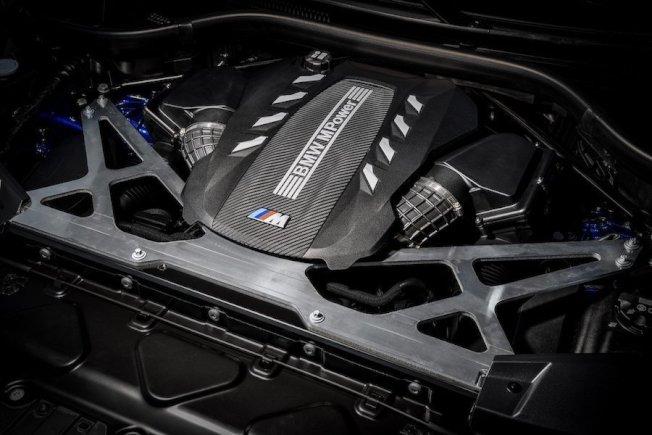 新世代BMW X5 M與X6 M搭載與現行M5相同的4.4升M TwinPower Turbo 4.4升V8雙渦輪雙渦流增壓汽油引擎。(BMW)