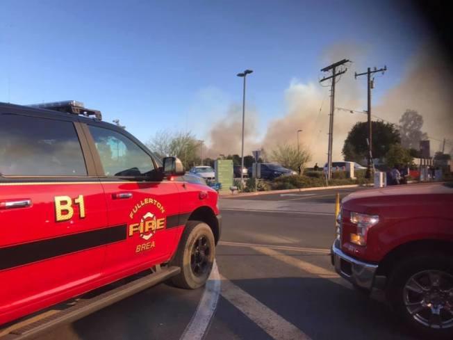 富樂頓的火勢已經被撲滅。 (富樂頓消防局臉書)