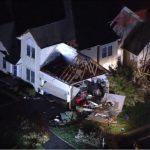 疑似龍捲風襲新賓 摧毀8屋數千戶停電