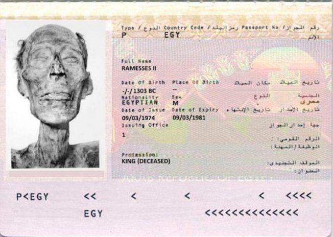 世上第一本木乃伊護照!法老王靠它出國修復身軀