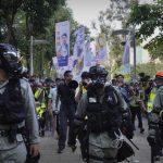 港再爆示威 17國46城聲援