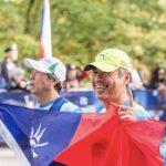 台灣2名盲人按摩師 5小時跑完紐馬 追夢大滿貫