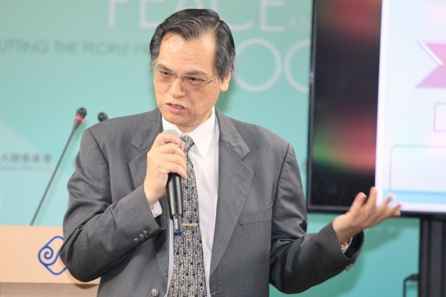 陸委會主委陳明通。(本報資料照片)