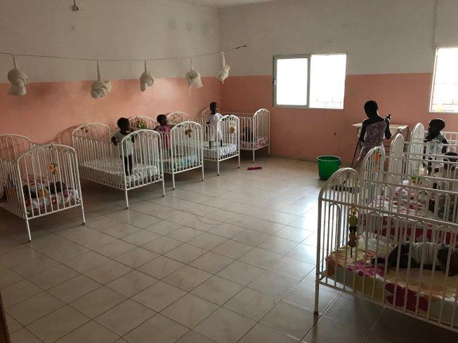 一間新育嬰室。(作者提供)