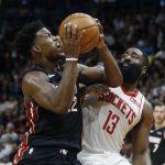 NBA/火箭首節就落後熱火32分 列聯盟紀錄第三慘