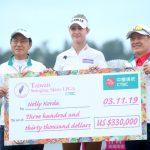 LPGA台灣賽╱延長賽苦戰 美國科達連霸