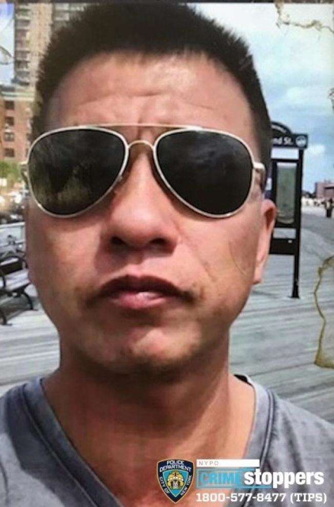 涉嫌攻擊的華裔男子。(66分局提供)