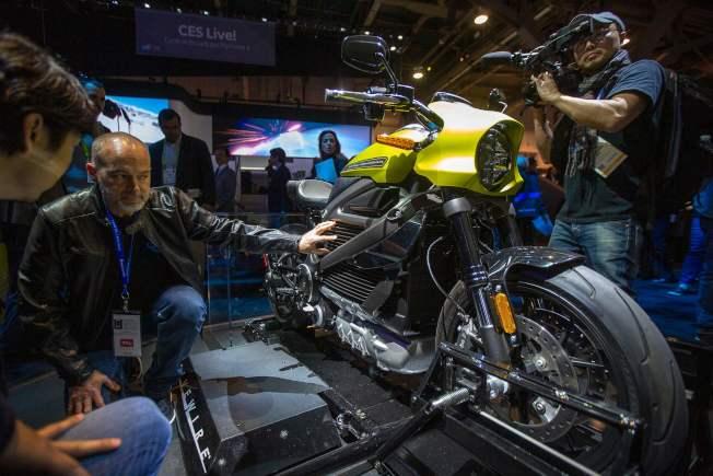 哈雷機車停止了全電動機車LiveWire的生產。(Getty Images)