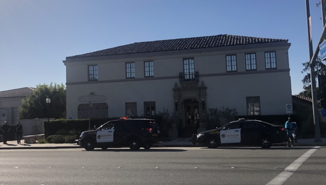聖瑪利諾公共安全稅收入用在該市的警消部門。(記者李雪/攝影)