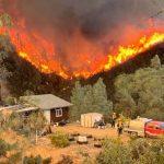 北加新野火1天燒3600畝 濃煙飄灣區
