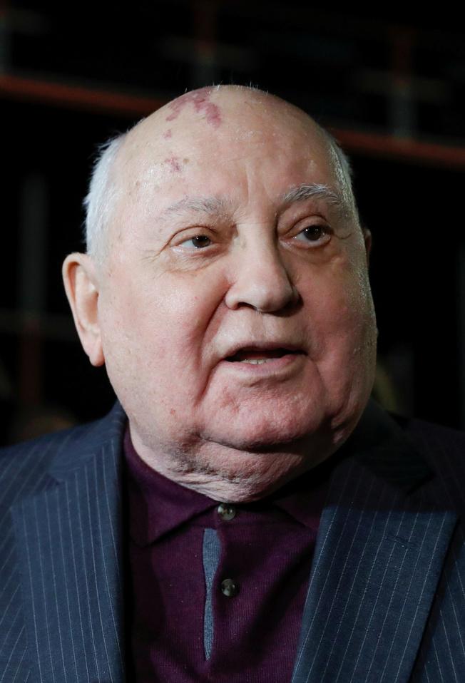蘇共最後一任中央委員會總書記戈巴契夫。(路透)