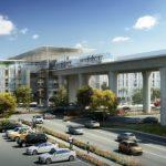 LAX輕軌捷運 第一階段完工