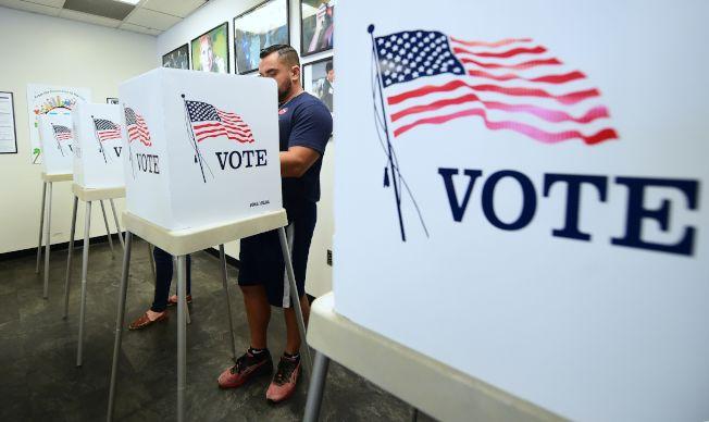5日投票被視作2020大選的前哨戰,多州的選舉結果對共和黨敲響警鐘,也為川普2020的選情投下陰影。(Getty Images)