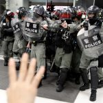 國務院副總理見林鄭 要求「三權合力」止暴